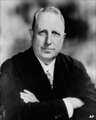 A 1935 portrait of William Randolph Hearst