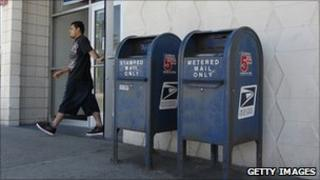 A post office in San Francisco