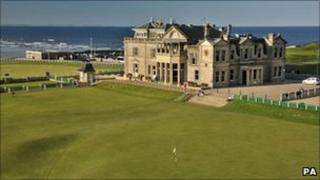 Old course at St Andrews