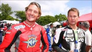 Carl Fogarty and James Whitham