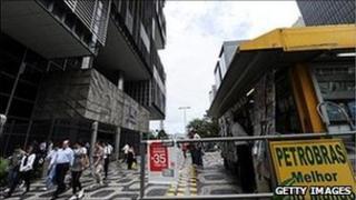 Petrobras entrance