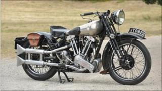 Brough Superior SS100