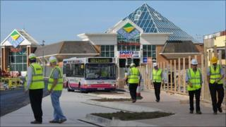 New bus station in Llanelli