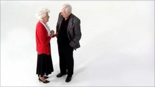 Two pensioners