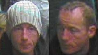 CCTV images of man