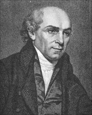 An engraving of William Carey
