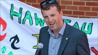 Plaid Cymru's Jonathan Edwards