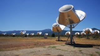 The SETI Allen Telescope Array in California