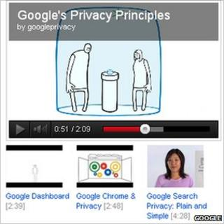 Google privacy stories