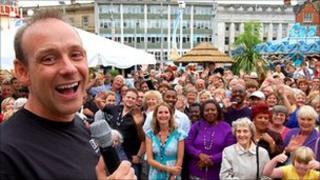 BBC Radio Nottingham presenter Andy Whittaker