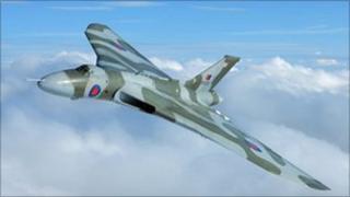 The Vulcan XH558 courtesy of John Dibbs