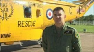 RAF Boulmer Winchman Andy Unsworth