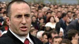 Ramush Haradinaj in 2005