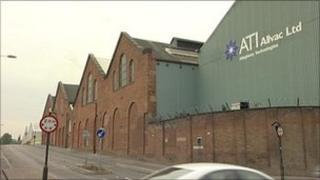 ATI Allvac Ltd in Sheffield