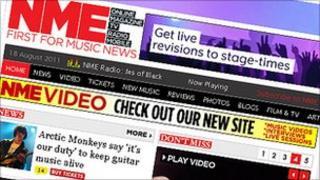 NME website