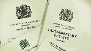 Hansard papers