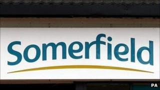 Somerfield sign
