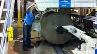 Pratt Industries plant in Texas