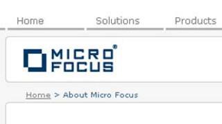 Micro Focus' website