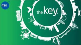 The key smart card
