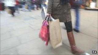 High street shoppers
