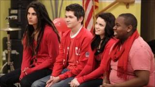 Four Glee project finalists