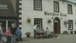 The Butcher's Arms in Crosby Ravensworth