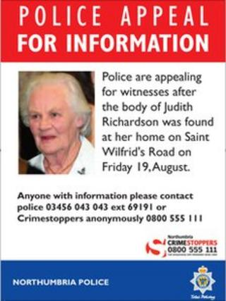 Judith Richardson poster appeal