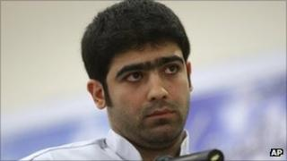 Majid Jamali Fashi in court in Tehran - 23 August 2011