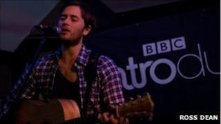 Chris Athorne, This Boy Wonders, performing for BBC Introducing in Suffolk at Boxford