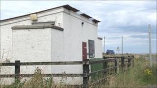 Staffin public toilets. Pic: BBC Alba