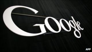 The Google sign