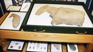 Artefacts found at the al-Maqar site in Saudi Arabia (Photo: Saudi Commission for Tourism and Antiquities)