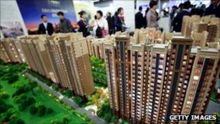 China property on display