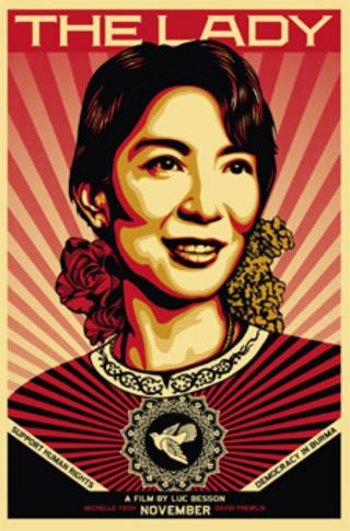 Shepard Fairey's The Lady