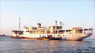 MV Liemba (copyright Kibwanaqua)