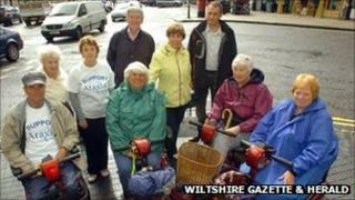 Wheelchair users