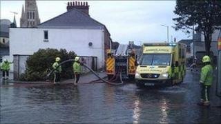 Floods in Truro