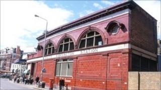 South Kensington Tube station in west London