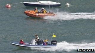 RNLI Dartmouth rescue