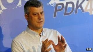 Kosovo PM Hashim Thaci (5 Dec 2010)