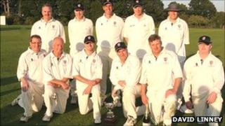 Lichfield clergy cricket team