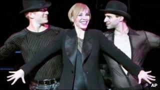The cast of Chicago
