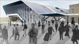 How the new Reading station entrance will look