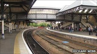Perth Station. Pic copyright Richard Webb and licensed for reuse under Creative Commons Licence