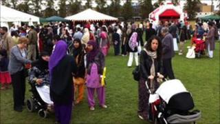 Eid celebrations, Cambridge