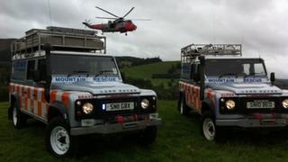 New rescue vehicle