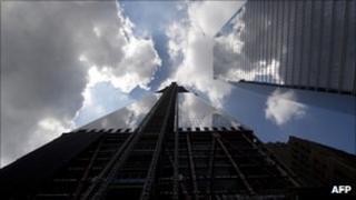 New skyscraper at One World Trade Center
