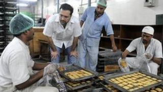 Inmates at Tihar prison