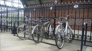 Cycles at Darlington Railway Station